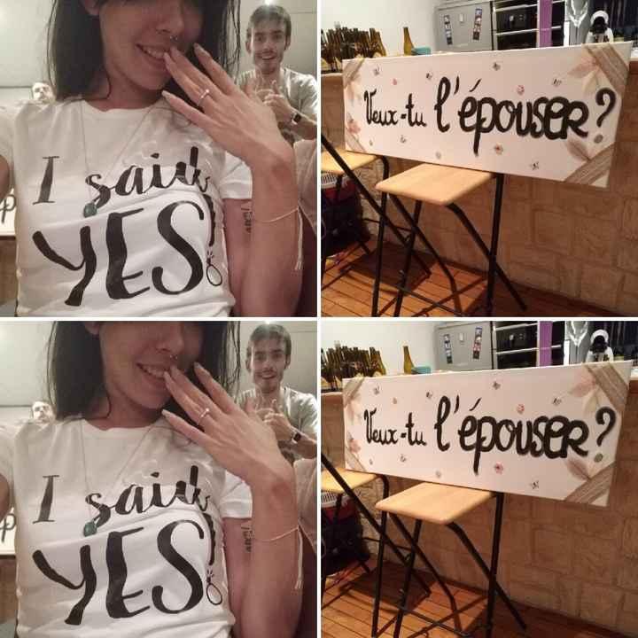 """Le fameux """"J'ai dit oui"""" - 1"""