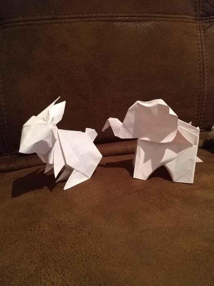 Marque place origami la suite - 1