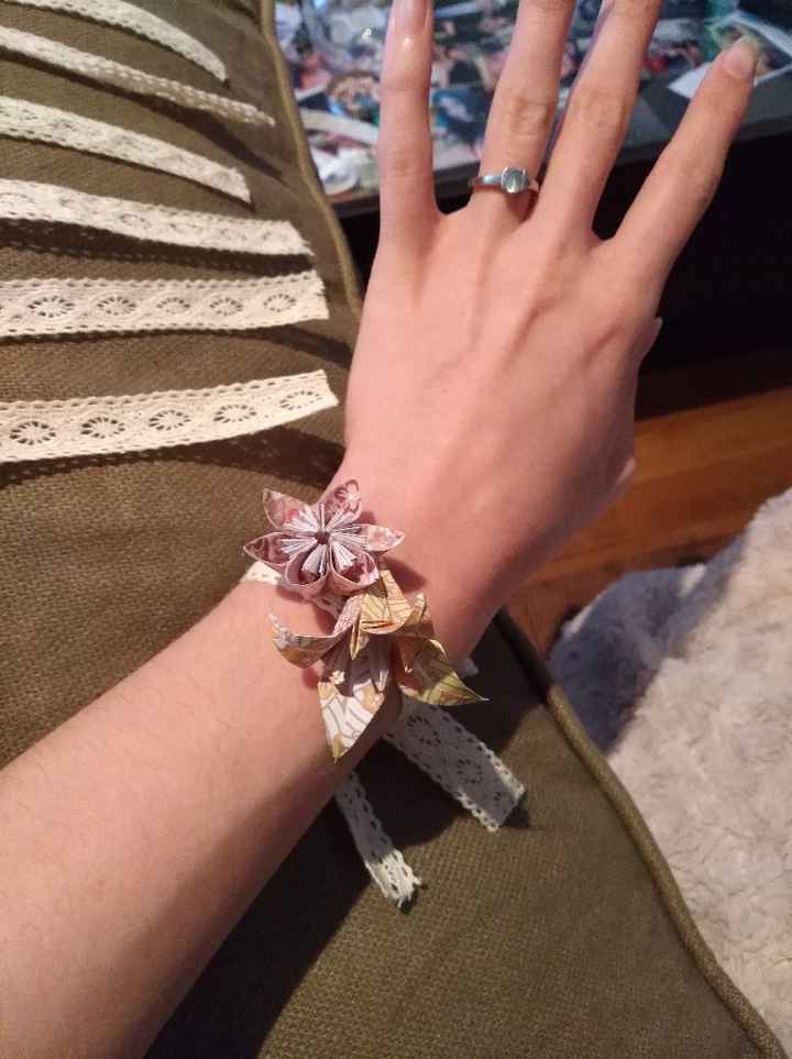 Mes bracelets origami - 2