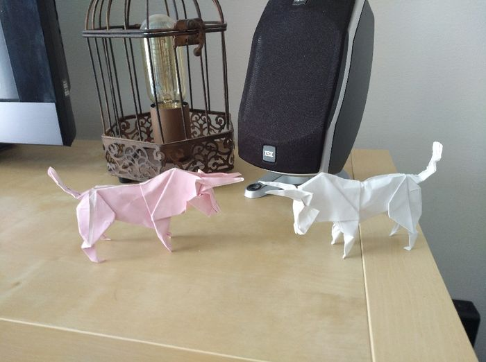 Diy origami marque place, les petits nouveaux - 1