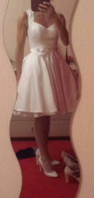 Ma robe pour la cérémonie civile... est arrivée! - 3