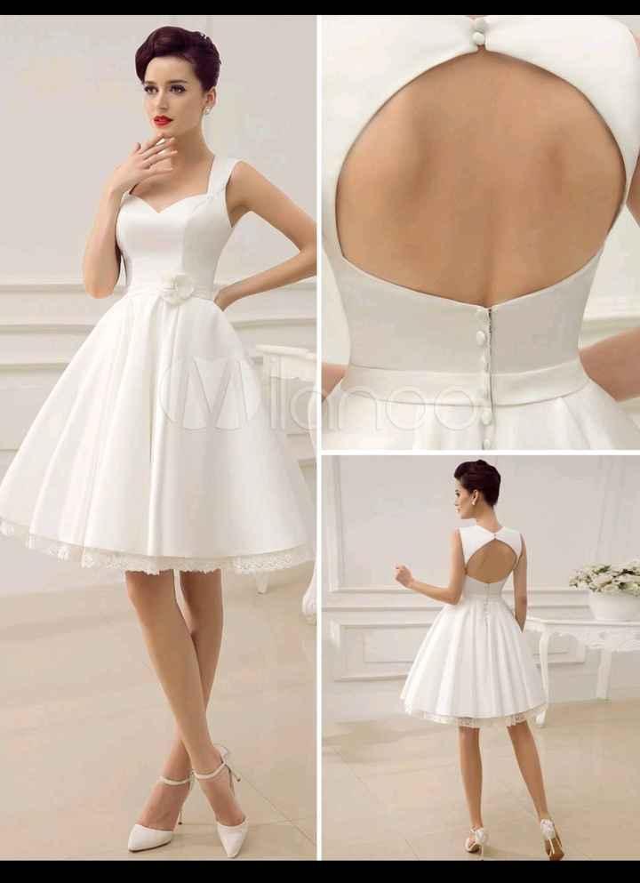 Ma robe pour la cérémonie civile! - 1