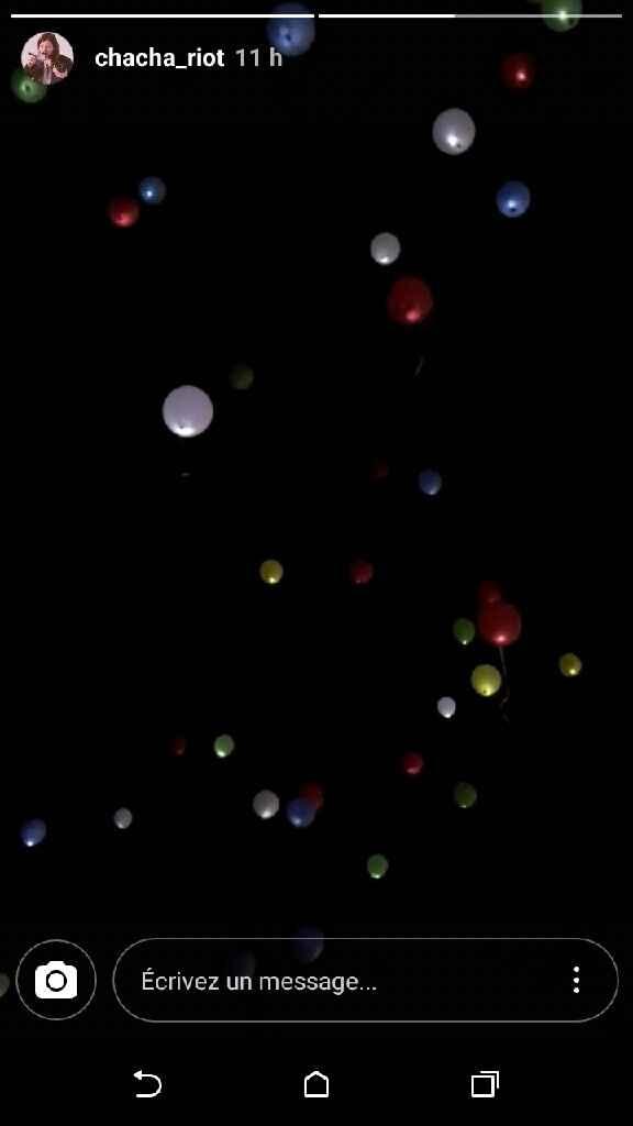 Lacher de ballon led - 2