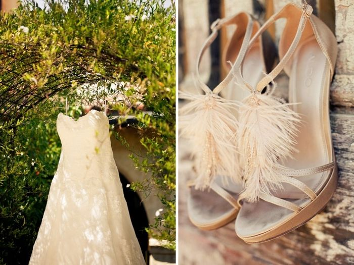 Chaussures mariage bohème , 2