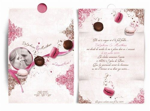 Inspiration mariage gourmandise page 2 mariages forum - Faire part mariage gourmandise ...