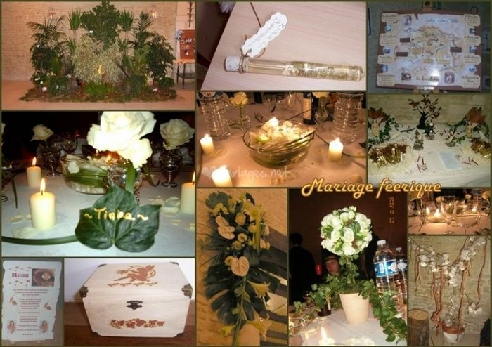 Mariage conte de f e page 3 mariages forum - Decoration conte de fee ...