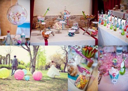 mariage multicolore mariages forum. Black Bedroom Furniture Sets. Home Design Ideas