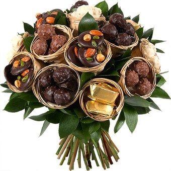 Bouquet mari e sans fleur ou fausse fleur avant le for Bouquet cadeau