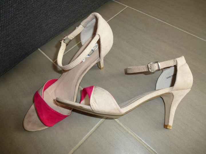 Mes chaussures pour le mariage civil