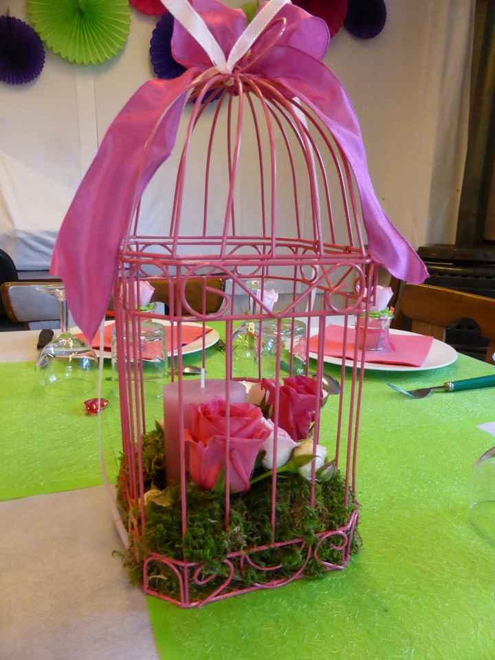 Décoration table mariage civil