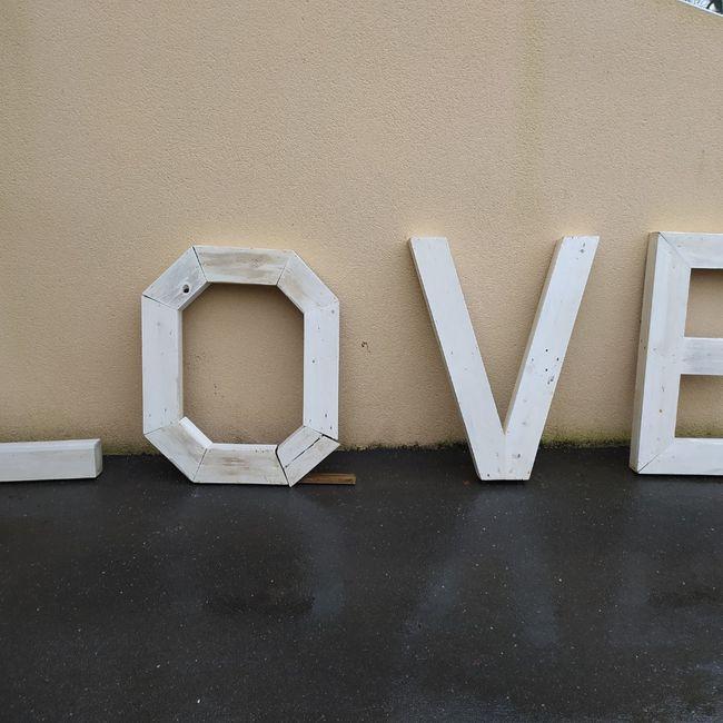 Des lettres géantes pour ton grand jour ? 3