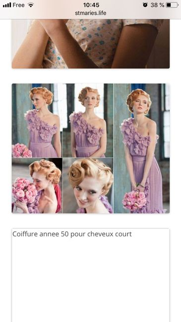 Coiffure pin up cheveux courts ????? 2