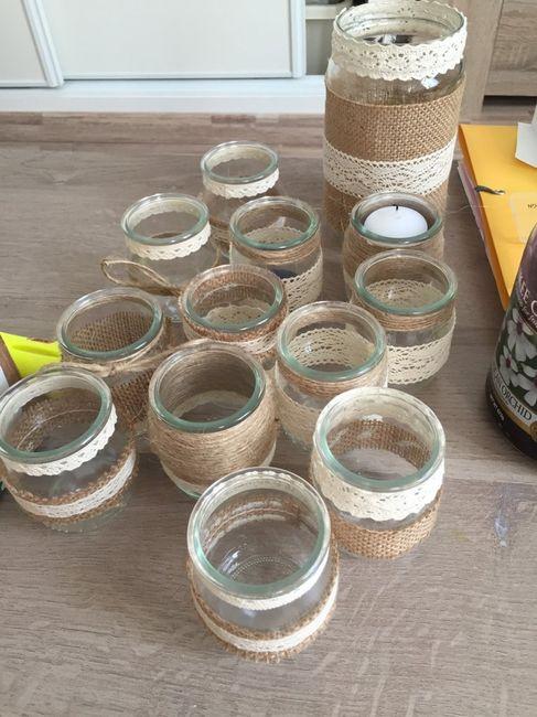 Pot En Verre Deco : pot en verre jute et dentelle d coration forum ~ Melissatoandfro.com Idées de Décoration