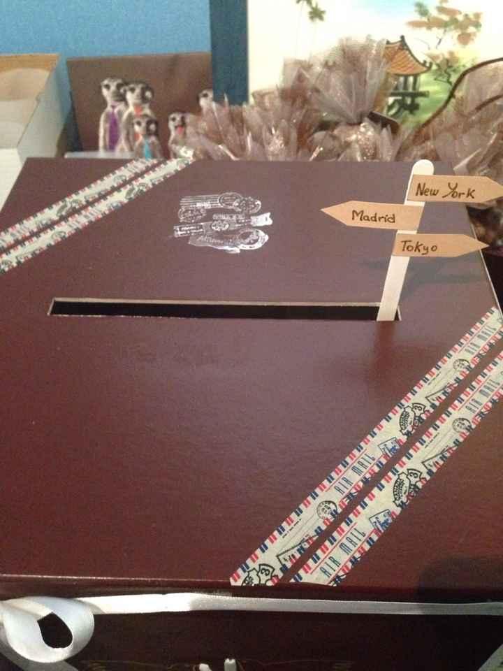 Plan de table et urne terminés - 2