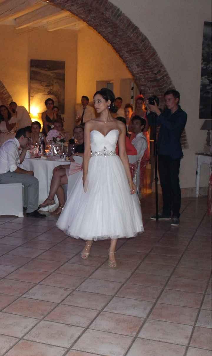 Gardez-vous votre robe pour danser ? - 1
