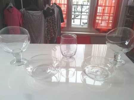 Vases pour Candy bar