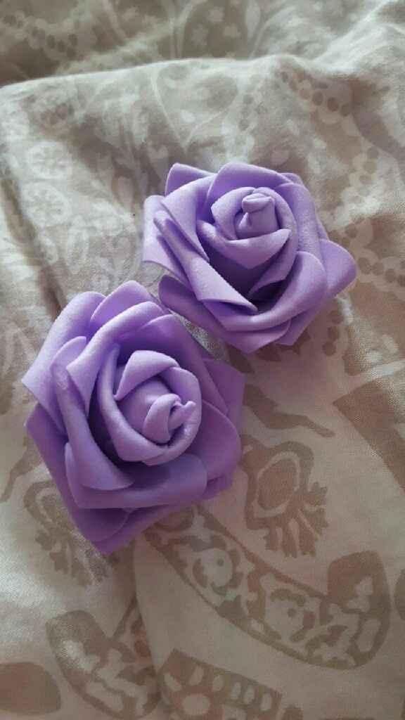Roses en mousse chez aliexpress - 3