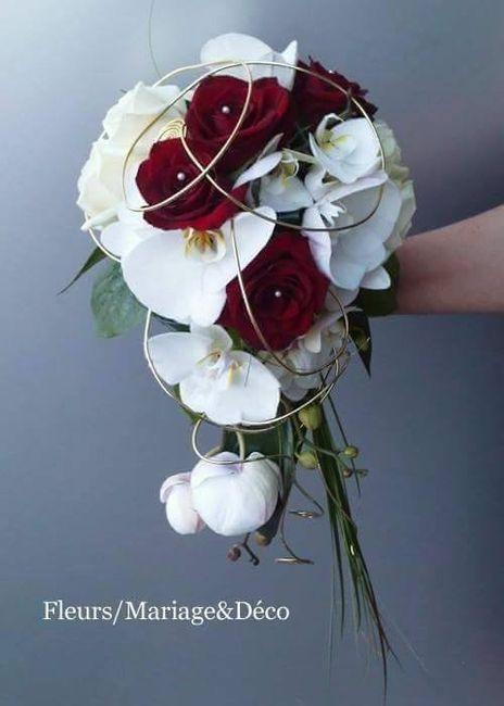 mon bouquet mes il sera bleu et blanc