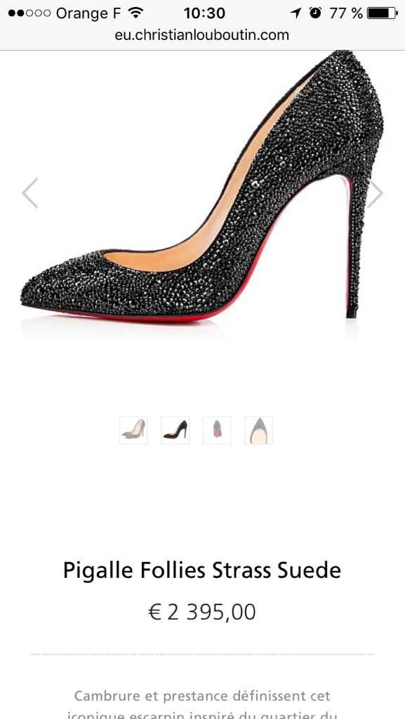 Chaussures louboutin... - 1
