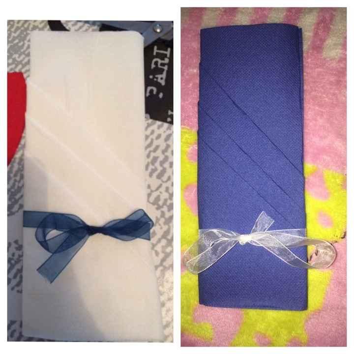 Pliages de serviettes !!! - 1