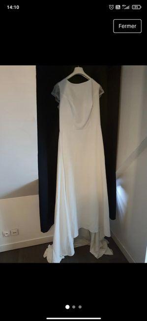 Inspiration robe renouvellement de vœux 2