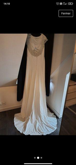 Inspiration robe renouvellement de vœux 3