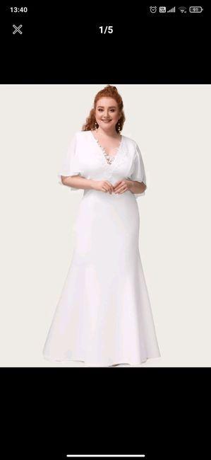 Inspiration robe renouvellement de vœux 4