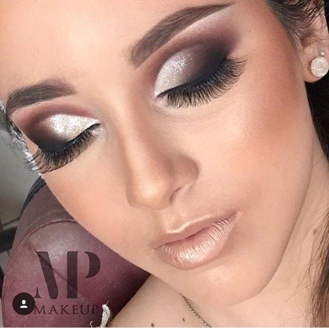 Quel maquillage yeux pour une brune peau l g rement mate 1 photo beaut - Maquillage yeux marrons peau mate ...