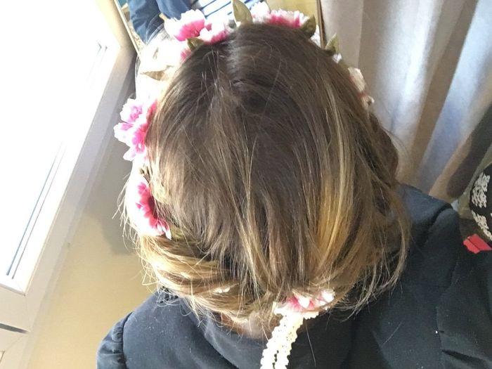 Essais coiffure - headband et cheveux courts - Beauté - Forum Mariages.net