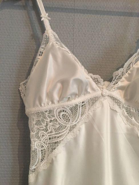 grossiste bbc40 17483 Ma lingerie de nuit de noce - rouge gorge modèle florence ...