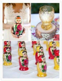 À travers la recherche de la mariée russe