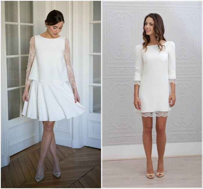 10 robes de mari e pour le mariage civil mode nuptiale for Robes de demoiselle d honneur pour les mariages de novembre