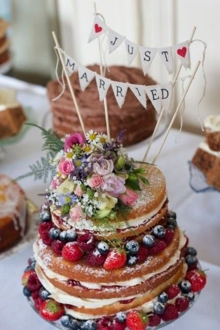 Wedding cake ou naked cake?? - Banquets - Forum Mariages.net