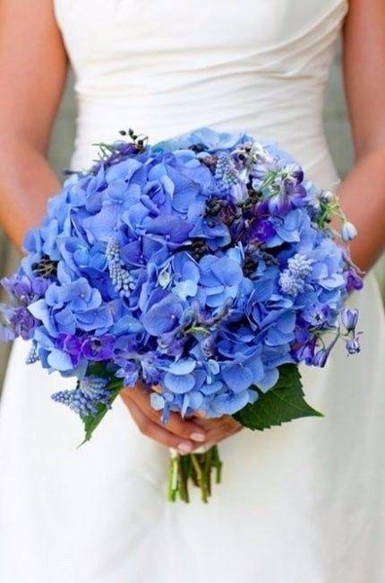 8 Bouquets De Fleurs Bleues Mode Nuptiale Forum Mariages Net