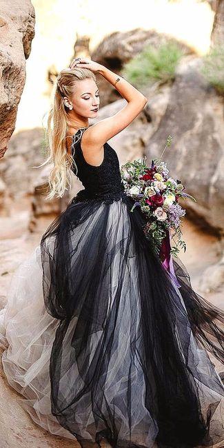 9eb7d27cbb0 La robe de mariée noire   pour ou contre   - Mode nuptiale - Forum ...
