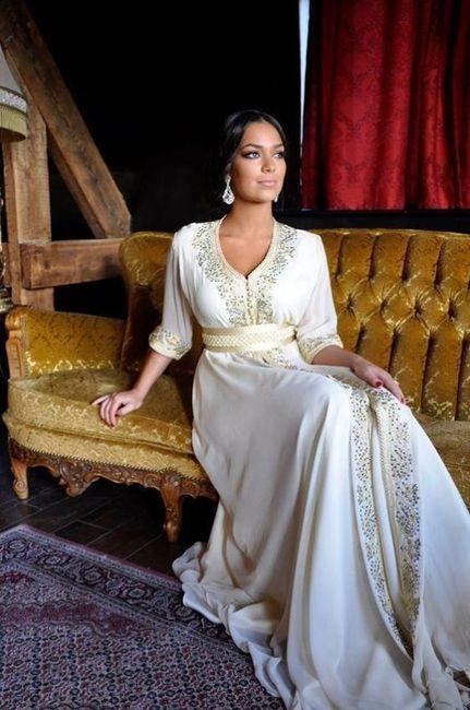Fabuleux Les plus belles robes orientales - Mode nuptiale - Forum Mariages.net @AO_43