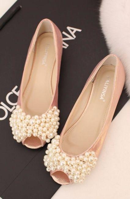 les ventes en gros choisir officiel réduction jusqu'à 60% 7 paires de chaussures plates pour la mariée - Mode nuptiale ...