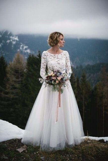 6 robes pour les mari es d 39 hiver mode nuptiale forum for Robes d hiver pour mariage