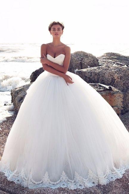Robes de mariée  Tendances 2017,2018 3