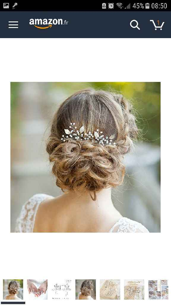 Bijoux de cheveux ... - 1