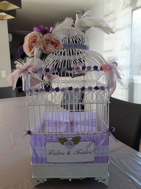 Cage urne th me oiseau plume d coration forum - Cage oiseau decoration ...