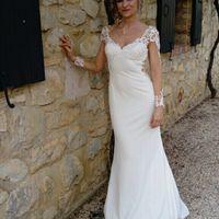 Nettoyage de ma robe de mariée - 1