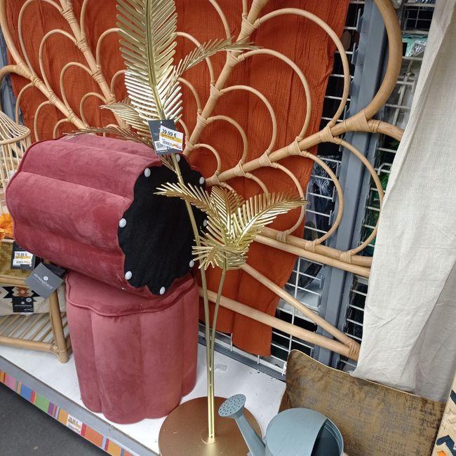 Première inspiration pour un mariage gold and palm tree 15