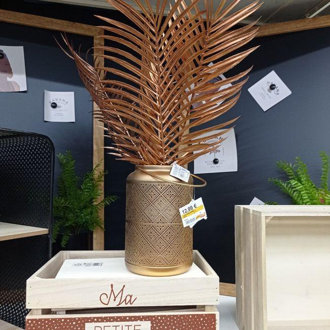 Première inspiration pour un mariage gold and palm tree 16