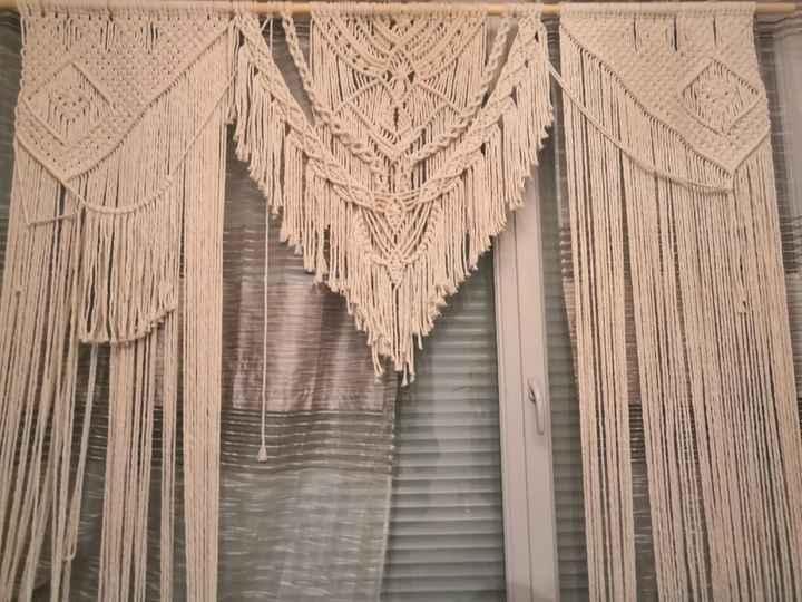 Arche en Macramé pour cérémonie laïque - 1