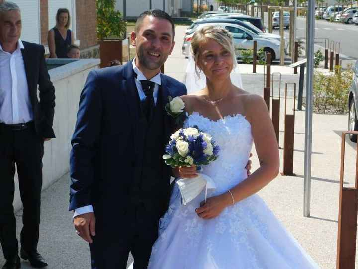 Mariage du 08 août 2020. - 2