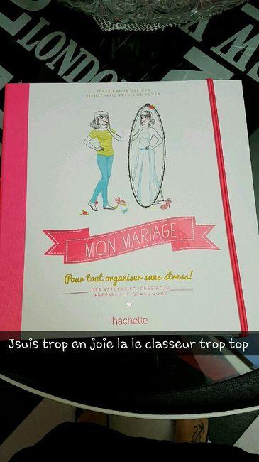 Classeur mariage 1