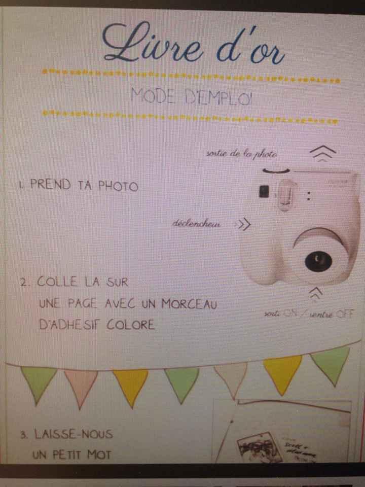 Help livre d'or avec photos !! - 2