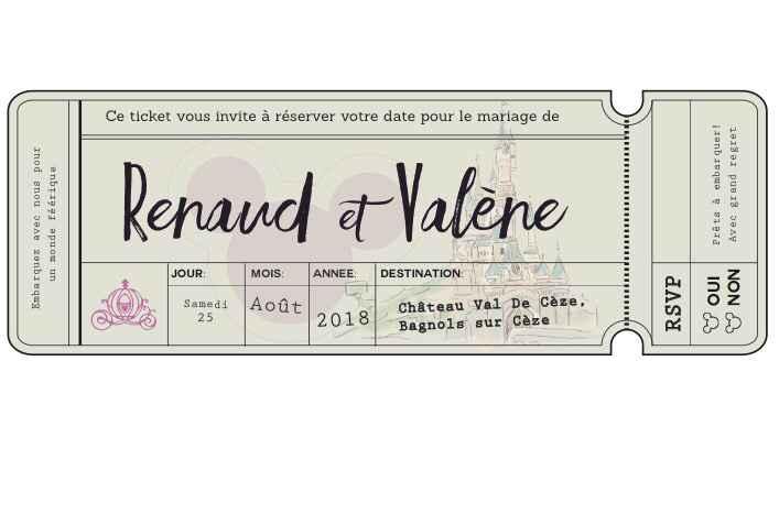 Nos save the date terminés!!!!! - 1