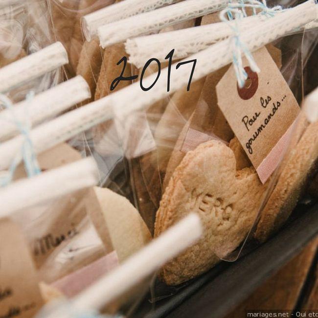 Tendance 2017 VS 2018 : les cadeaux pour invités 1